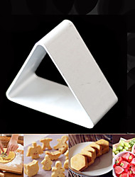 cheap -Metal Cake Cookie Bakeware Mould Fondant Cookie Cutters Biscuit Mold Kitchen Diy Triangle