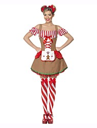 cheap -Oktoberfest/Beer Cosplay Dress Cosplay Costume Outfits Women's Adults' Oktoberfest Festival / Holiday Halloween Costumes Vintage
