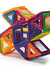 cheap -Building Blocks Magnetic Blocks Magnetic Building Sets Toys Windmill Bear Magnetic Plastics Iron Children's Pieces