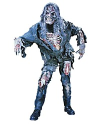 Skeleton/Skull Zombie Cosplay Cosplay Costumes Male Unisex Halloween Carnival Day of the Dead Festival/Holiday Halloween Costumes Black