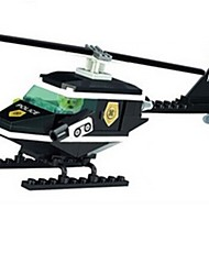 Building Blocks Helicopter Toys Aircraft Helicopter Pieces Gift