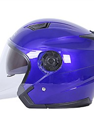 cheap -Half Helmet Relaxed Fit Fastness Durable ABS Motorcycle Helmets