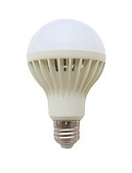 1pc 6W E27 Lampadine LED smart 40 leds SMD 2835 Attivazione sonora Decorativo Controllo della luce Controllo voce Bianco 578lm 6000-6500K