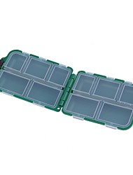 "cheap -Fishing Tackle Box Tackle Box Waterproof 2 2/5"" (6 cm)*3 Plastic"