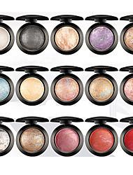 economico -15 Palette di ombretti Luccicante Gamma di colori dell'ombretto Cipria Trucco giornaliero Trucco da fata Trucco smokey