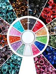 cheap -Nail Art Decoration Rhinestone Pearls Makeup Cosmetic Nail Art Design
