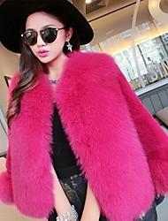 economico -cappotti / giacche da donna in pelliccia sintetica / abiti eleganti da sera