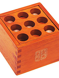 Thirty-six Solutions Kongming Luban Wooden Puzzle Toy JJ7701-0540