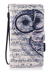 Case For Samsung Galaxy J7 (2017) J3 (2017) Wallet Card Holder with Stand Flip Magnetic Pattern Full Body Owl Hard PU Leather for J5