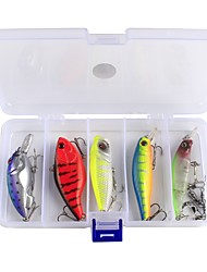 10 pcs Fishing Accessories Set Lure Packs g/Ounce mm inch,Plastic Carbon Steel Sea Fishing Bait Casting Ice Fishing Freshwater Fishing