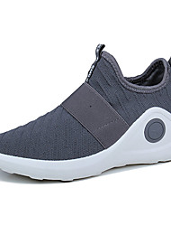 cheap -Men's Shoes Fabric Spring Fall Comfort Light Soles Athletic Shoes For Casual Red Gray Black