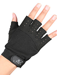 Sports Gloves Half Finger Breathable Comfortable Sticky for Recreational Cycling Exercise & Fitness Mountaineering Gym Outdoor 1 pair