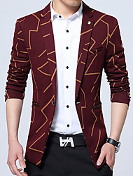 Men's Work Plus Size Casual Winter Fall Blazer