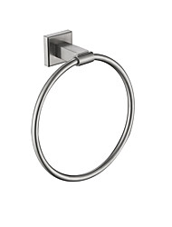 cheap -Towel Ring Stainless Steel Nickel Brushed Wall Mounted