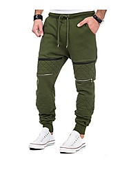 Men's Running Pants Fitness, Running & Yoga Thermal / Warm Breathable Comfortable Pants / Trousers Running/Jogging Recreational Cycling