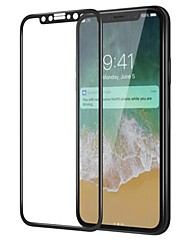 cheap -Tempered Glass Screen Protector for Apple iPhone X Front Screen Protector High Definition (HD) 9H Hardness 3D Curved edge