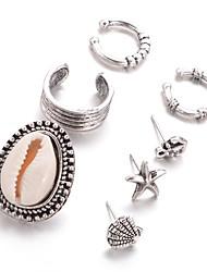 baratos -Mulheres Boêmio Estrela - Personalizada Clássico Boêmio Fashion Formato Circular Estrela Para Diário Casual Formal Rua Encontro