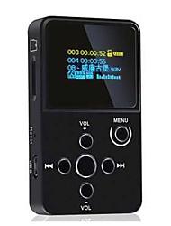 Hi FiPlayerNão Jack 3.5 mm Cartão TF 32GBdigital music playerBotão