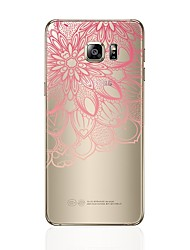cheap -Case For Samsung Galaxy S8 Plus S8 Transparent Pattern Back Cover Heart Lace Printing Soft TPU for S8 S8 Plus S7 edge S7 S6 edge plus S6