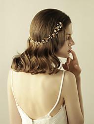 imitace perlové slitiny tiaras čelenky květy headpiece elegantní styl