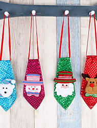cheap -1pc Snowmen Santa Holiday Storage Bag Ornaments Holiday, Holiday Decorations Holiday Ornaments