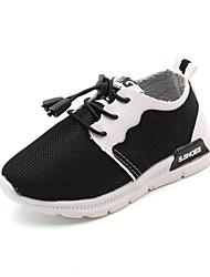 Недорогие -Мальчики обувь Синтетика Осень Зима Удобная обувь Спортивная обувь Для прогулок Пряжки На эластичной ленте Назначение Атлетический