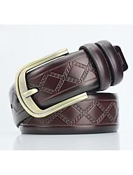 cheap -Men's Alloy Waist Belt,Pattern Print Retro