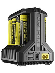 Nitecore Intellicharger i8 Battery Charger Portable Multi-function for Li-ion