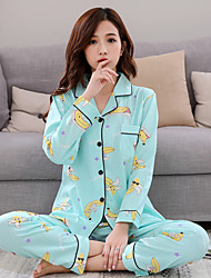 Pyjama Coton Tricot roman Femme