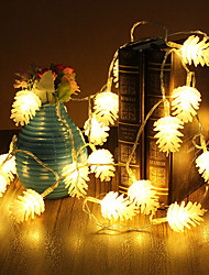 cheap -3M 20Leds Pine Cone Fairy String Light Christmas Party Wedding Outdoor Garden Tree Decoration Light