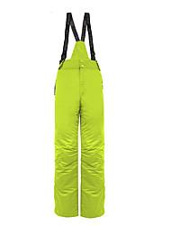 abordables -Wild Snow Hombre Pantalones de Esquí Templado, Impermeable, Resistente al Viento Esquí / Deportes de Invierno Algodón, Terileno Prendas
