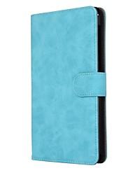 solide Retro-Stil Muster PU Ledertasche mit Ständer für huawei mediapad t2 7.0 pro und m2 (ple-703l) 7-Zoll-Tablet-PC
