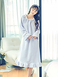 cheap -Women's Wool Flannel Pajama