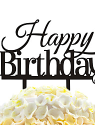 torta acrilica decorazione decorazione torta di compleanno