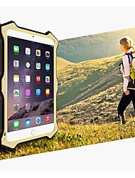 cheap -Case For Apple iPad Mini 4 iPad Mini 3/2/1 Water/Dirt/Shock Proof Full Body Cases Solid Color Hard Metal for iPad Mini 4 iPad Mini 3/2/1