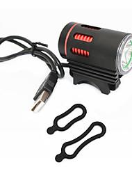 cheap -Bike Lights LED 1000 lm 3 Mode Cree XM-L T6 Portable Travel Size Wearproof Cycling/Bike