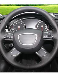 Automobil Lenkradbezüge(Leder)Für Audi 2013 A4L