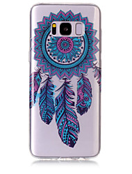 Custodia Per Samsung Galaxy S8 Plus S8 IMD Transparente Fantasia/disegno Custodia posteriore Cacciatore di sogni Morbido TPU per S8 S8