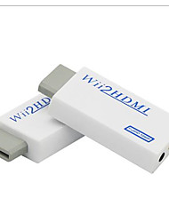 cheap -Wii to HDMI Converter Adapter Wii2 HDMI 3.5mm Audio Box Wii-link