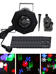 YWXLight® IP65 Waterproof EU US UK Plug 6W Snowflake Projector Light Christmas Holiday Decoration