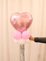 10Pcs/Set  Tassel Ribbon Aluminum Balloon Wedding Anniversary Birthday Party Decorations Decorative Bar Tassel Curtains