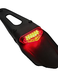 cheap -ZIQIAO Motorcycle Bike Rear Fender Taillight LED For KTM XR250 XR400 XR650 WR250F WR450F CRF250X CRF450X CRF Motorcycle Accessories