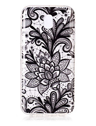 For Case Cover IMD Transparent Pattern Back Cover Case Lace Printing Soft TPU for Samsung Galaxy J7 (2016) J7 (2017) J5 (2016) J5 (2017)