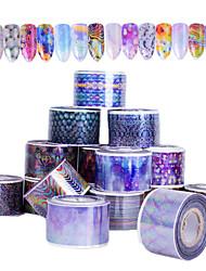 abordables -16pcs Paillettes Motif Autres Accessoires Décoration artistique / Rétro Autocollants 3D pour ongles Autocollant Produits DIY 3D Modèle