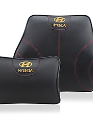 Automotive Headrest & Waist Cushion Kits For Hyundai All years All Models Car Waist Cushions Leather