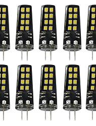 3W G4 LED Doppel-Pin Leuchten 16 SMD 2835 200 lm Warmes Weiß Weiß 3000-3500  6000-6500 K DC 12 V