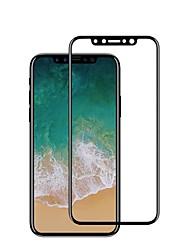 Недорогие -Защитная плёнка для экрана для Apple iPhone X Закаленное стекло 1 ед. Защитная пленка на всё устройство Взрывозащищенный Защита от