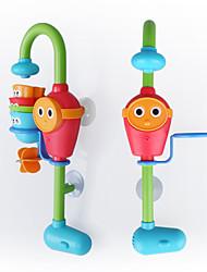 Недорогие -Игрушки для купания Игрушки Квадратный Пластик Детские Куски