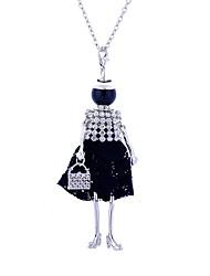 Жен. Заявление ожерелья Бижутерия Кружево Сплав Костюм Pоскошные ювелирные изделия Бижутерия Назначение Для вечеринок Для улицы