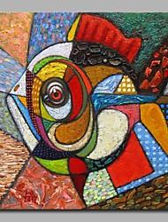 epinephelus akaara 100% pintados a mão pinturas a óleo contemporâneas obras de arte de parede moderna para decoração de sala
